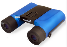 Levenhuk Rainbow 8x25 Blue Wave Binoculars roof prism 8x fogproof waterproof with accessory kit