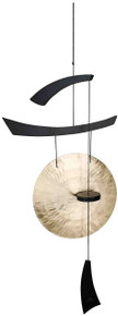 Woodstock Emperor Large Gong, Black Wood