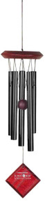 Woodstock Encore Collection Black Chimes of Mars Windchime