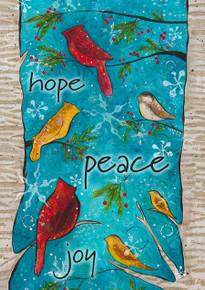Toland Home Garden 102535 Peace Birds House Flag