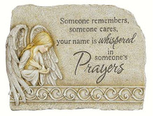 Carson Home Accents Peaceful Reflections Garden Marker, 8.25-Inch High, Prayers