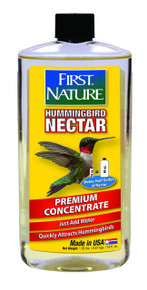 First Nature 3052 Clear Hummingbird Nectar, 16-ounce Concentrate