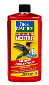 First Nature 3050 Red Hummingbird Nectar, 16-ounce Concentrate