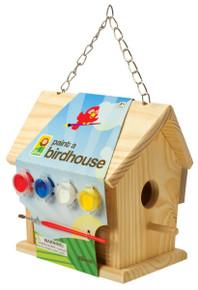 Toysmith Paint-a-Birdhouse Kit