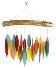 Blue Handworks Santa Fe Glass Wind Chime