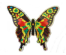 Large Multi Colored Butterfly Door Screen Saver