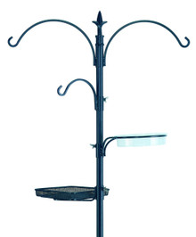 "Gardman BA01131 Premium Bird Feeding Station Kit, 21"" Wide x 90"" High (73"" above ground height)"