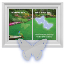 Window Alert Butterfly Decals