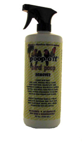 Poop-Off Bird Poop Remover Sprayer, 32-Ounce