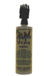 Poop-Off Bird Poop Remover Brush Top, 16-Ounce