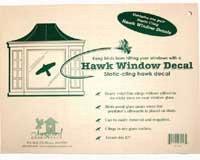 Songbird Essentials Static Cling Window Hawk 2 per pkg. (Replaces the VIHAWK)