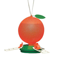 Cherry Valley Plastic Orange Oriole Feeder, 40 oz. Model 5547