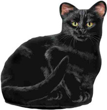 Fiddlers Elbow Black Cat Door Stop