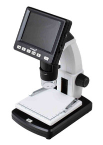 Levenhuk DTX 500 LCD Digital Microscope USB connectable portable with LCD display 20-500x 5Mpix digital camera