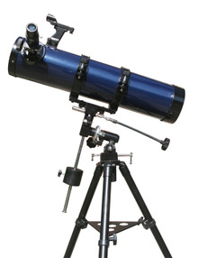 Levenhuk Strike 120 PLUS Telescope Newtonian 114 mm aluminum coated optics with advanced accessories kit
