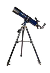 Levenhuk Strike 90 PLUS Telescope refractor 90 mm fully multi-coated optics with advanced accessories kit