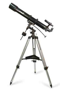 Levenhuk Skyline 90x900 EQ Telescope refractor 90 mm equatorial mount