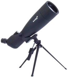 Levenhuk Blaze 90 Spotting Scope fully coated optics 30-90x waterproof with tripod and case