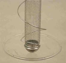 Songbird Essentials Bird Quest 10.5 inch Clear Screw-On Seed Tray