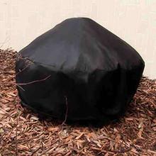 Sunnydaze Heavy Duty Black Round Fire Pit Cover, 80 Inch Diameter