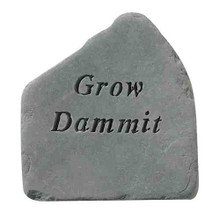 Grow Dammit Accent Rock