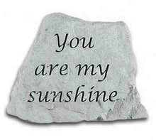 Kay Berry- Inc. 47320 You Are My Sunshine - Memorial - 3.5 Inches x 3 Inches x 1 Inches