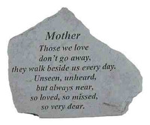 Kay Berry- Inc. 15020 Mother Those We Love - Memorial - 6.875 Inches x 5.5 Inches