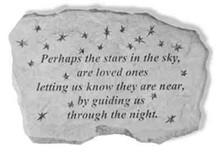 Perhaps The Stars In The Sky Memorial Stone