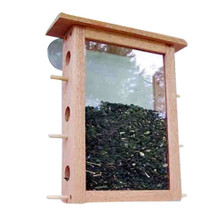 Coveside See Through Window Mount Bird Feeder
