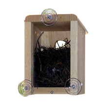 Coveside Birds - HousingWindow Nest Box With 3 suction cups