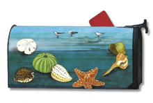 MailWraps At The Shore Mailbox Cover #01751