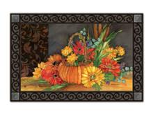 Autumn Tapestry Floral Indoor/outdoor Doormat