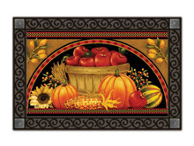Harvest Basket Fall Indoor/outdoor Doormat