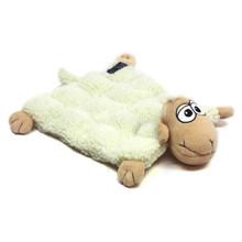 Outward Hound Kyjen  32048 Squeaker Matz Sheep 16-Squeaker Plush Squeak Toy Dog Toys, Large, White