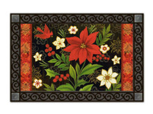 Christmas Flora Doormat by MatMates