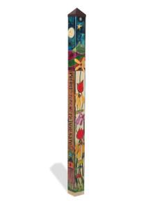 MagnetWorks PP214 6 ft. Peace Garden Art Pole