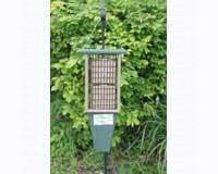 Songbird Essentials Double Suet Feeder Hunter Green Driftwood