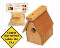 Songbird Essetials Wren House Kit