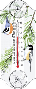 Aspects Chickadee/Nutchatch Thermometer