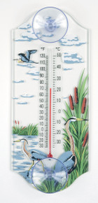 Aspects Great Blue Heron Thermometer