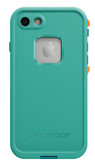 LifeProof FRE Case iPhone 7 - Light Teal/Maui Blue/Mango Tango