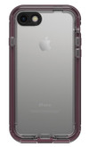 LifeProof NUUD Case iPhone 7 - Wild Berry/Deep Plum Purple/Clear