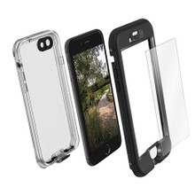 LifeProof NUUD Case with Alpha Glass iPhone 7 - Black