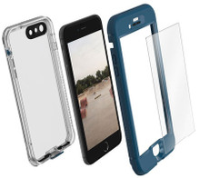LifeProof NUUD Case with Alpha Glass iPhone 7+ Plus - Blue/Clear