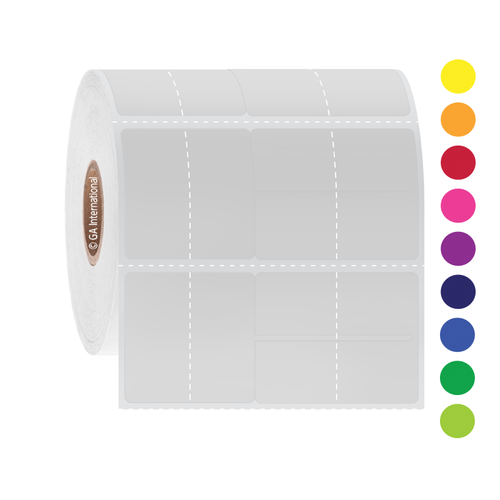 "Thermal Transfer Jewelry Labels - 2.843"" x 1.25""  #SGOL-4"