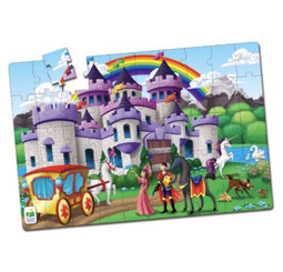 Double sided Fairy Tale Puzzle