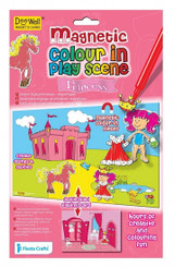 Princess Colour in Magnetic Play Scene