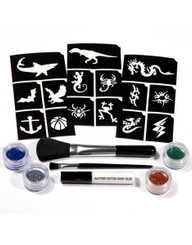 Glimmer Art Tattoo Kit - Wild
