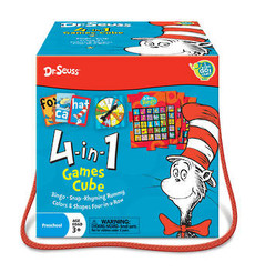 Dr Seuss 4-in-1 Games Cube