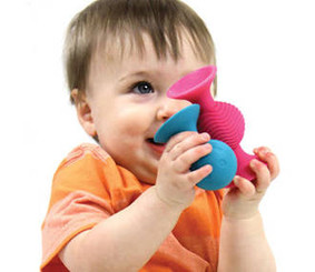 Go anywhere, baby activity, rattle and teether toy